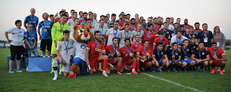 Gruppenfoto Finale EUSA Games 2016